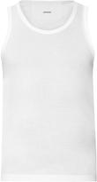 Lemaire Scoop-neck cotton tank top