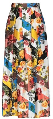 Black Coral 3/4 length skirt