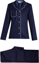 Derek Rose Lombard jacquard-cotton pyjamas