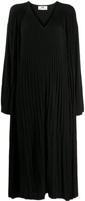 Sminfinity V-neck knitted dress