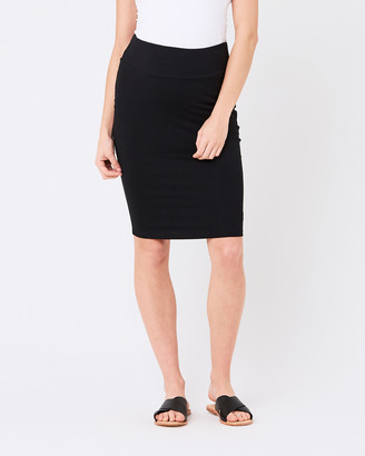 Ripe Maternity Mia Plain Skirt