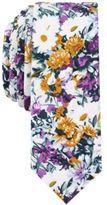 Original Penguin Men's Canard Floral Cotton Skinny Tie