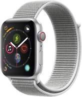 Apple Watch Series 4 (GPS + Cellular), 44mm Silver Aluminium Case With Seashell Sport Loop