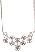 Lois Hill Sterling Silver Kays Cutout Bib Necklace