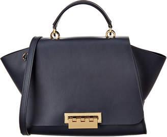 Zac Posen Eartha Iconic Soft Top Handle Leather Satchel