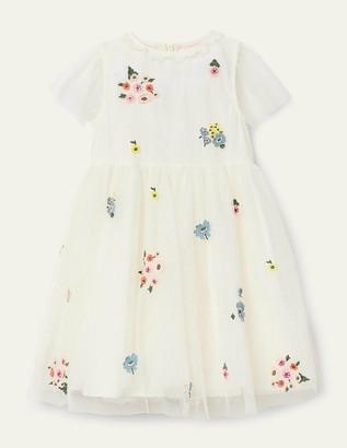 Boden Embellished Tulle Dress