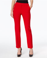 INC International Concepts Petite Straight-Leg Pants, Only at Macy's