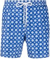 Barba Coral Print Swim Shorts