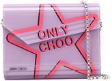 Jimmy Choo Candy clutch - women - Leather/plastic - One Size