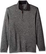 Haggar Men's 1/4 Zip Sweatshirt