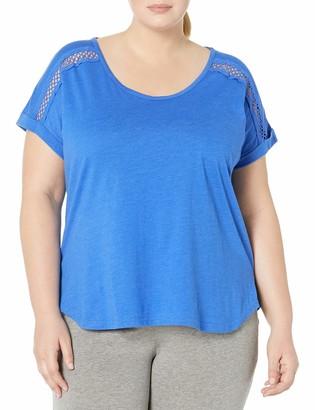 Karen Neuburger Women's Plus Size Pajama Lounge Top Short Sleeve T-Shirt Pj