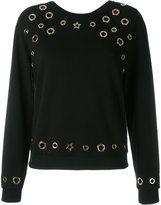 Philipp Plein rivet sweatshirt