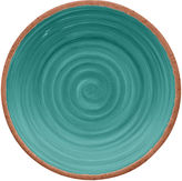 One Kings Lane S/4 Rustic Salad Plates, Turquoise