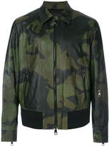 Neil Barrett camouflage bomber jacket