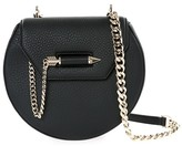 Mackage Wilma-C Leather Shoulder Bag In Black/Gold