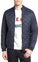 Barbour Men's Holton Tailored Fit Quilted Bomber Jacket