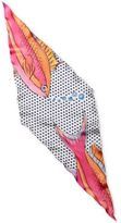 Echo Just Keep Swimming Silk Diamond Scarf