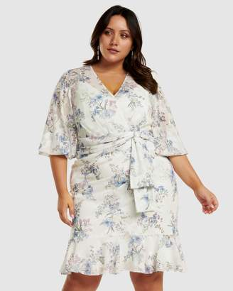 Josie Cross Over Curve Dress