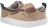Polo Ralph Lauren Charter EZ (Toddler) (Khaki Canvas/Ivory Pony) Boy's Shoes