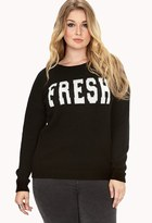 Forever 21 Plus Size Classic Fresh Sweater