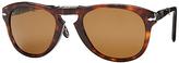 LUXOTTICA GR Persol 00714S Size 52 Polarized Oval Sunglasses