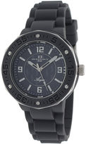 Oceanaut Acqua Womens Gray Rubber Strap Watch