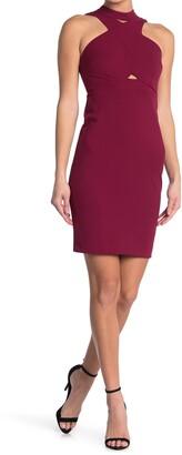 GUESS Crisscross Cocktail Dress