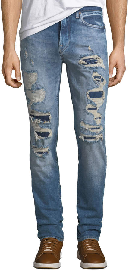 f1bc1aa3603 Mens Ripped Denim Jeans - ShopStyle Canada