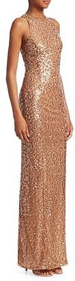 Galvan Sequin Bodycon Gown
