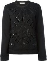 Valentino sequin embellished knitted sweater - women - Polyamide/Polyester/Polyurethane/Viscose - S