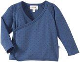 Oeuf Kimono Wrap Top (Baby) - Indigo-12 Months