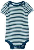 Kickee Pants Print Short Sleeve Bodysuit (Baby Boys)