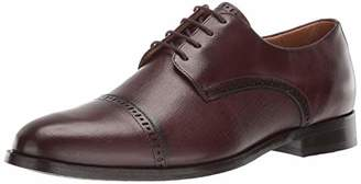 Marc Joseph New York Mens Genuine Leather Oxford Lace-Up Dress Shoe
