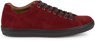 Bally Orivel Lace-Up Suede Sneakers