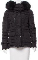 Belstaff Fur-Trimmed Puffer Jacket