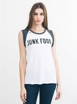 Junk Food Clothing Short Sleeve Tank-ew/pe-s