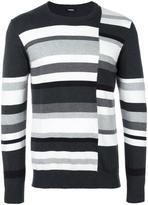 Diesel striped sweatshirt - men - Cotton - M