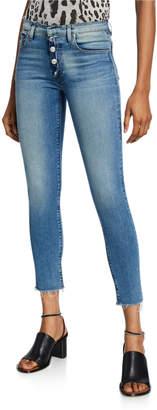 Hudson Nico Mid-Rise Crop Skinny Jeans