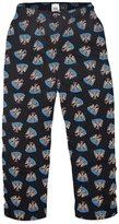 Newcastle United F.C. Newcastle United FC Official Soccer Gift Mens Lounge Pants Pajama Bottoms Sm.