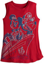 Disney Mouse Tank Tee for Women Cruise Line