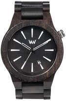 WeWood watch Wood / wooden ASSUNT BLACK calendar 9818097 Men's Watch