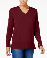 Style&Co. Style & Co High-Low Sweater, Created for Macy's
