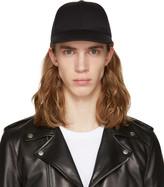 Dolce & Gabbana Black Tonal Print Cap