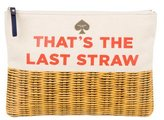 Kate Spade That's The Last Straw Pouch