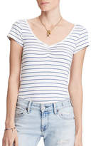 Denim & Supply Ralph Lauren Striped Sweetheart Tee