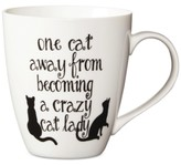Pfaltzgraff One Cat Away From Being A Crazy Cat Lady Mug