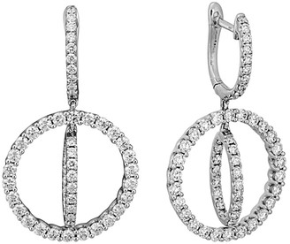 Diamond Select Cuts 14K 1.90 Ct. Tw. Diamond Earrings