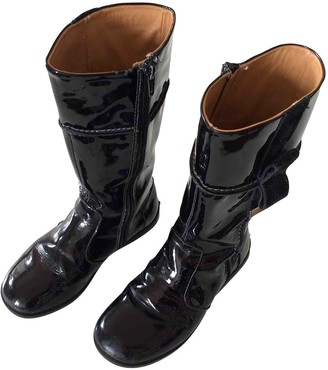 Tod's Black Patent leather Boots