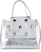 Orciani small studded tote - women - Calf Leather/Suede - One Size