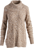 Iron Cable-Knit Turtleneck Sweater